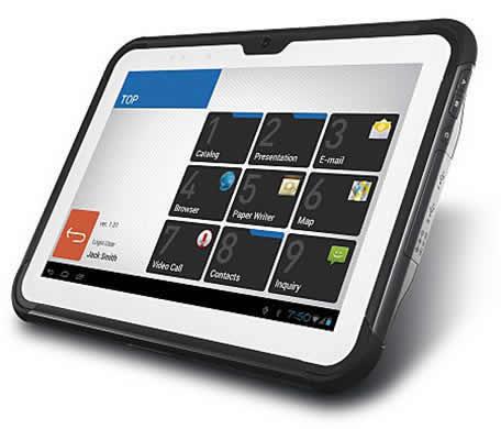 Планшетный ноутбук CASIO V-T500-GE