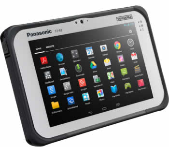Защищенный планшетный ноутбук Panasonic FZ-B2, mk2